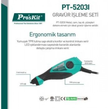 Proskit PT-5203I Electric Engraving Set Carving and Grinding